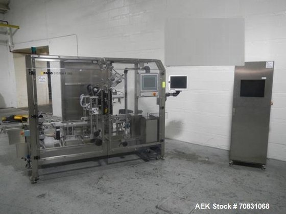 Used- Uhlmann carton labeler, model
