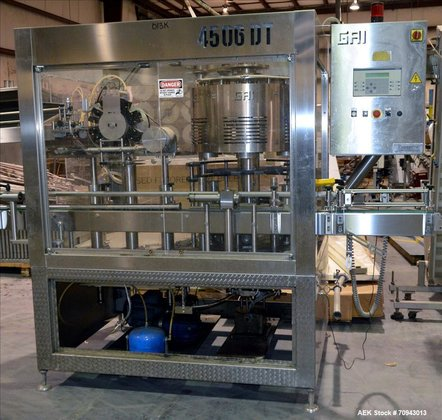 Used-GAI 6 Head Capper with
