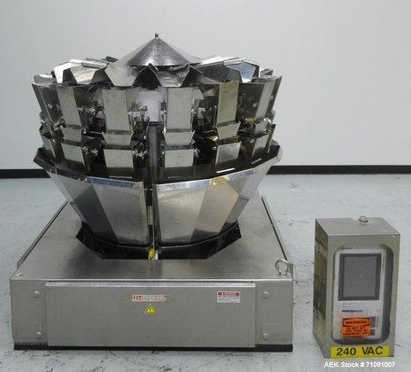 Used- Ishida Model CCW-Z-216-WS/20-WP, 16