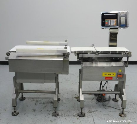 Used- Ishida DACS-V-012-SB/WP-1 Belt Checkweigher.