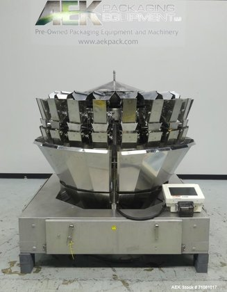 Used- Ishida Model CCW-DZ-220W-SD/20-WP, 20