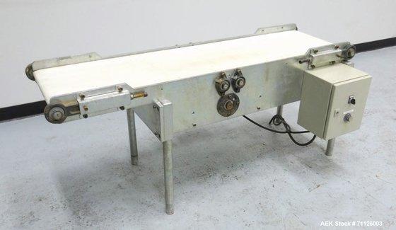 Used- Belt Conveyor. Has a