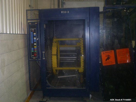 Used- Lantech Ring Wrapper, Model