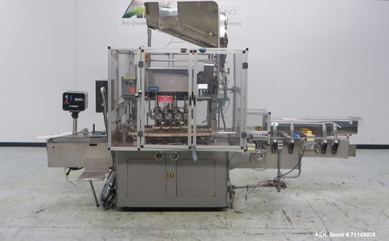Used- Resina Model UN-40 Automatic