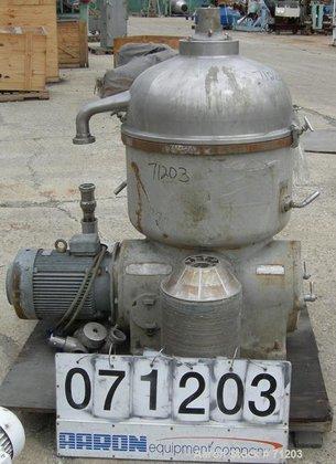 USED: Westfalia TA-60-02-506 solid bowl