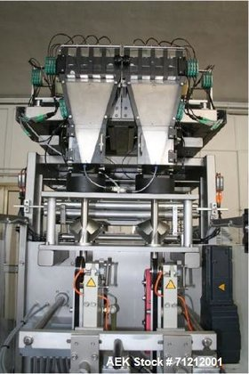 Used- Pouch Packaging line. Capacity