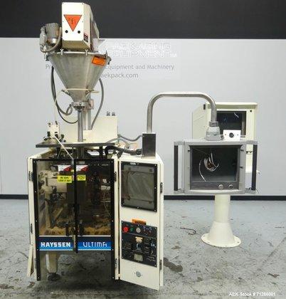 Used- Hayssen Model Ultima CoffeeMAX