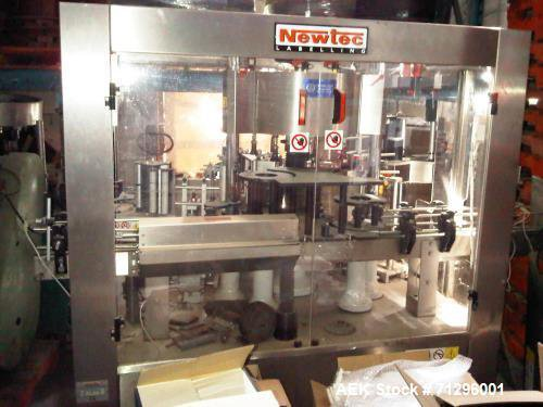Used- Newtec 3 Station Rotary