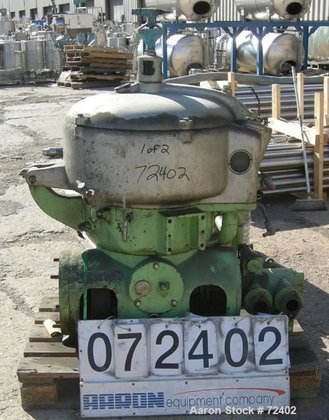 USED: Westfalia OTA-30-02-066 oil purifier