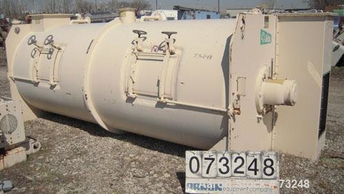 Used- Lodige Continuous Plow Mixer,