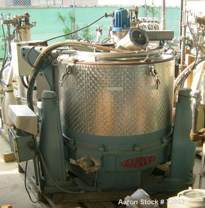 Used- Rousselet SC85-3KSAR Perforated Basket
