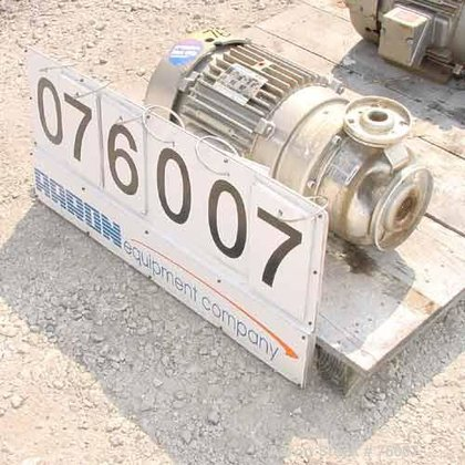 Used- Goulds Centrifugal Pump, Size