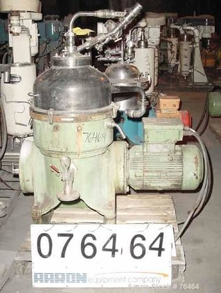 USED: Westfalia TA-40-02-506 solid bowl