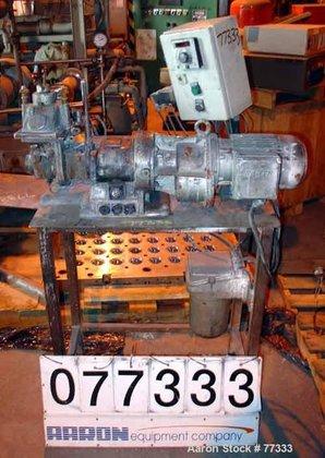 USED: Werner Pfleiderer lab size