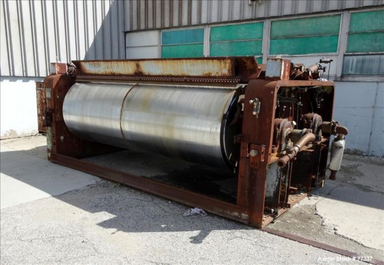 USED: Stokes Double Drum Dryer,