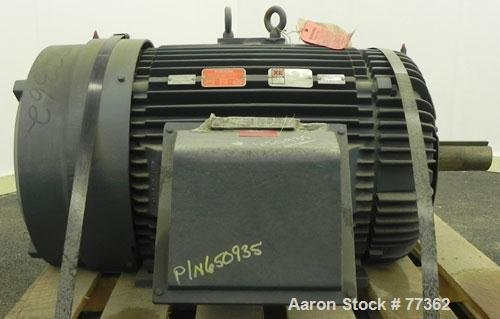 Unused- Reliance TEFC Motor. 200