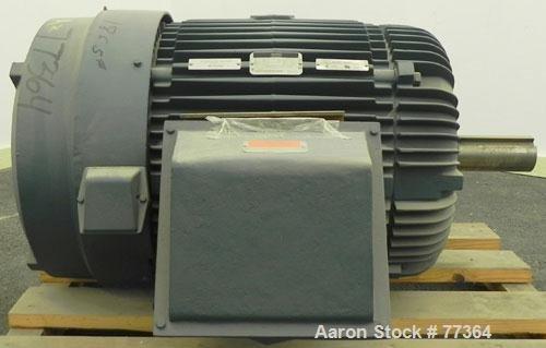 Unused- Reliance TEFC Motor, 125