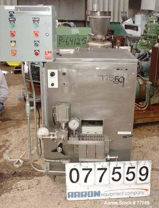Used- Niro Homogenizer, Stainless Steel.