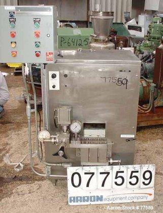 Used- Niro Homogenizer, Stainless Steel.