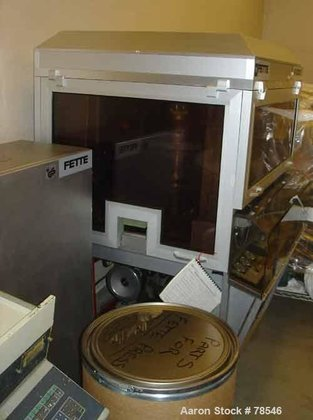Used- Fette Single Sided Rotary