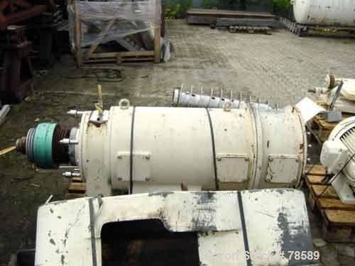 Used- Westfalia CA-366-010 Decanter Centrifuge.