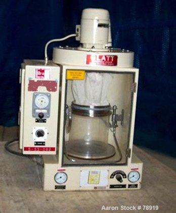 Used- Glatt Laboratory Fluid Bed