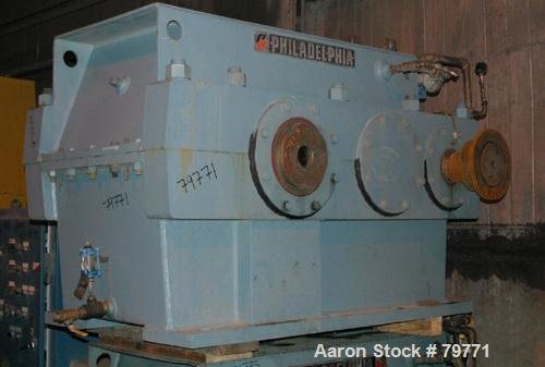 Used- Philadelphia Parallel Shaft Gearbox,