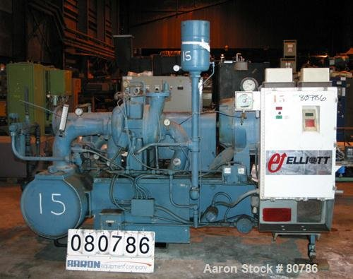 USED: Elliot Centrifugal Compressor, model