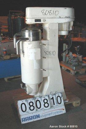 USED: Sharples MV-AS26RR-1JCY Super Centrifuge.