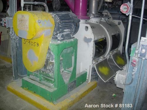 USED: Lodige plow mixer, model