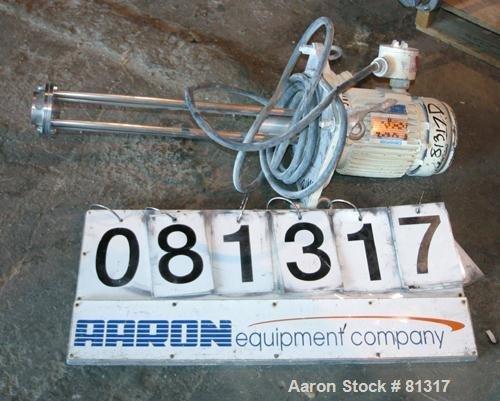 Used- Ross Batch Mixer Emulsifier,