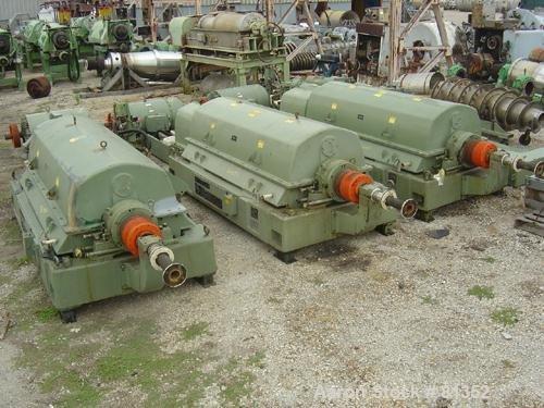 USED: Sharples PM-75000 Super-D-Canter centrifuge,
