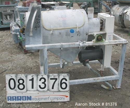 Used- Kason Centri-Sifter, Model MOB-SS,