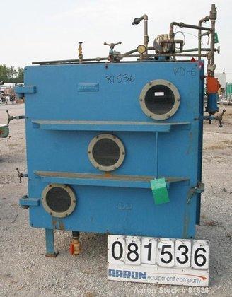 Used- Stokes Vacuum Shelf Dryer,