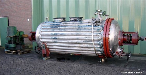 USED: CMR rotary vacuum dryer,