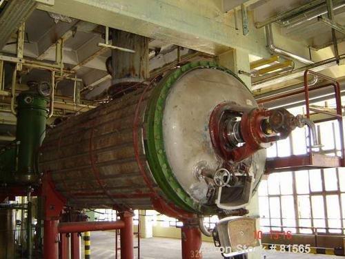 USED: Vevey rotary vacuum dryer,