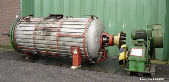 USED: Vevey rotary vacuum dryer,