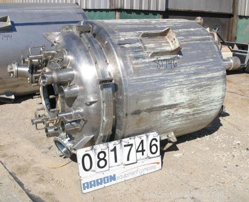 Used- Precision Stainless Reactor, 381