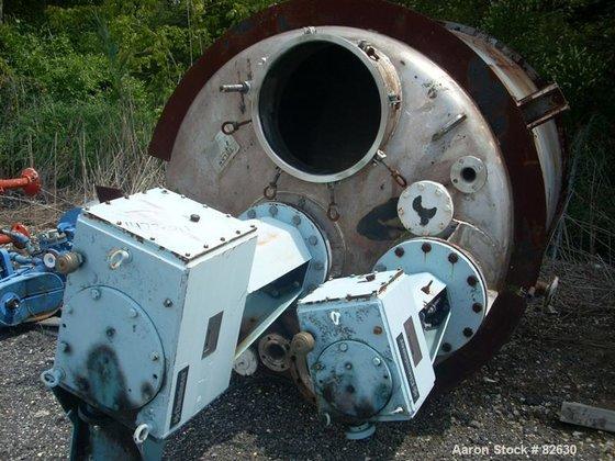 Used- Tolan Reactor, 1238 Gallon,