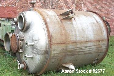 Used- Tolan Reactor, 1350 Gallon,