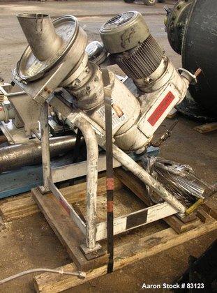 Used- Rietz Disintegrator, Model RP-6-K115,