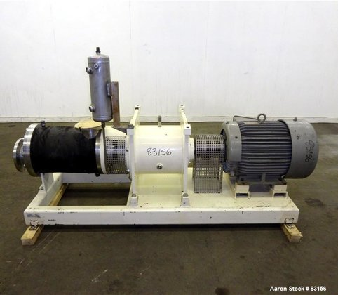 Used- Lipp Inline Continuous Rotor/Stator