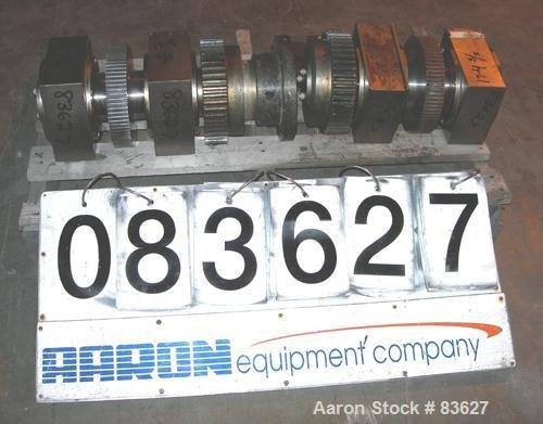 Used- Fitzpatrick Chilsonator Rolls, 17-4