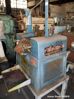 Used- Keith Machinery Horizontal Three
