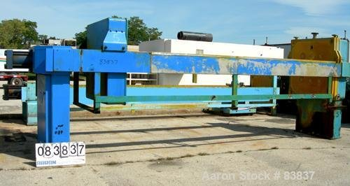 Used- JWI Filter Press, Model