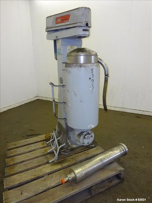 USED: Sharples MV26RR.210G.1H Super Centrifuge,