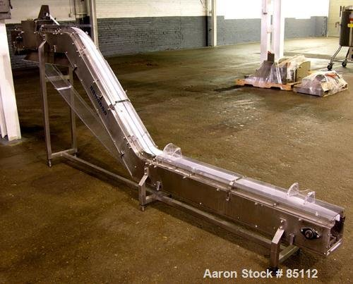 Used- Autopack Inclined Belt Conveyor.