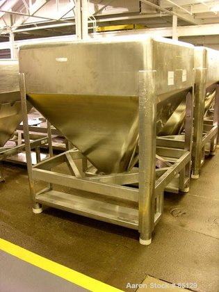 Used- B&G Stackable Tote Bin,