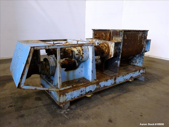 Used- Winkworth Machinery Mixer Extruder,