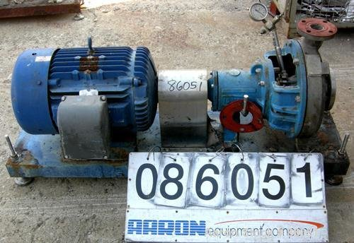 Used- Durco Centrifugal Pump, Size